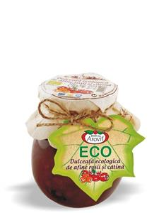 Cranberries and sea-buckthorn Eco confiture 320g