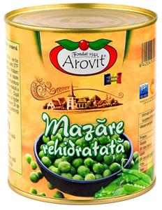 Rehydrated green peas860g
